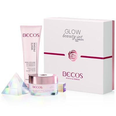 White Prisma Glow Beauty Set Illuminateur De Visage