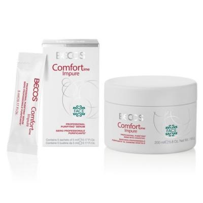 Comfortime Impure Professional- Masque Et Sérum (5) Visage